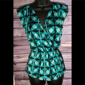 Ann Taylor silk like blouse